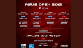 ASUS Spring Cup 2012 по DOTA 2 как первый отбор на главное событие