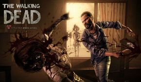 Началась серия игр The Walking Dead про спасение от всяких зомби