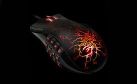 Razer Naga Molten Special Edition игровая мышь для ММОG