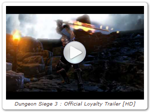 Dungeon Siege 3 : Official Loyalty Trailer [HD]