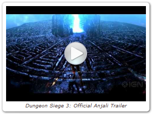 Dungeon Siege 3: Official Anjali Trailer