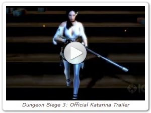 Dungeon Siege 3: Official Katarina Trailer