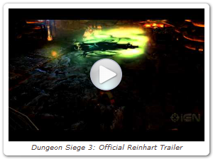 Dungeon Siege 3: Official Reinhart Trailer