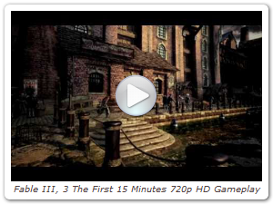 Fable III, 3 The First 15 Minutes 720p HD Gameplay