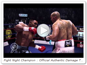 Fight Night Champion : Official Authentic Damage Trailer [HD]