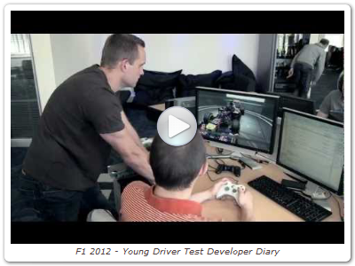 F1 2012 - Young Driver Test Developer Diary