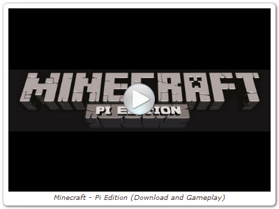 Minecraft - Pi Edition (Download and Gameplay)