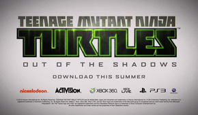 Анонс Teenage Mutant Ninja Turtles: Out of the Shadows