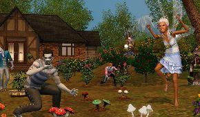«The Sims 3 Сверхъестественное» уже в продаже.