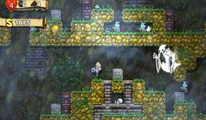 Один из игроков в Spelunky смог убить Привидение