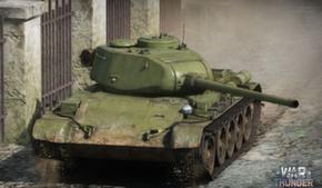 Разработчики War Thunder начали реставрировать Танк Т-44