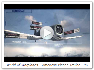 World of Warplanes - American Planes Trailer - PC