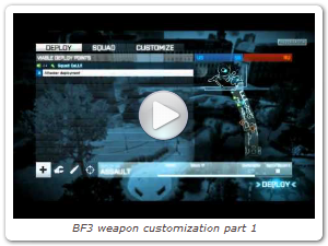 BF3 weapon customization part: 1 (Official video by yourgamingteam)