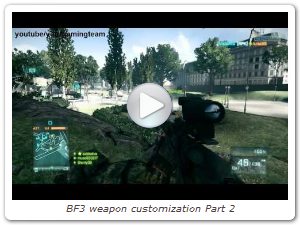BF3 weapon customization Part 2 (Official video by yourgamingteam)